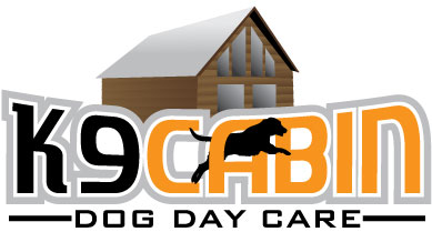 Logo for K9 Cabin Dog Day Care.